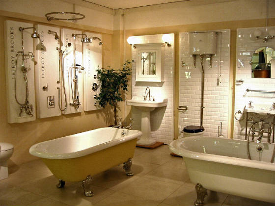 lefroy brooks bath displays